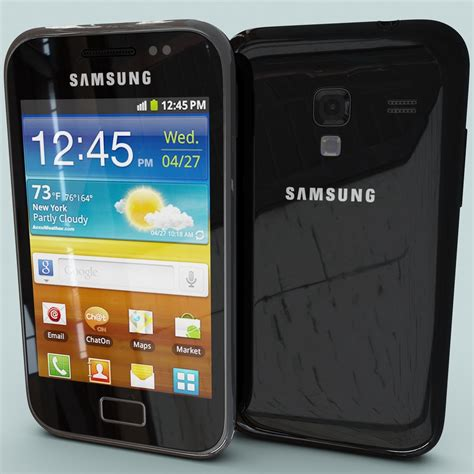 Samsung Ace 3 Plus 3ds max samsung galaxy ace s7500