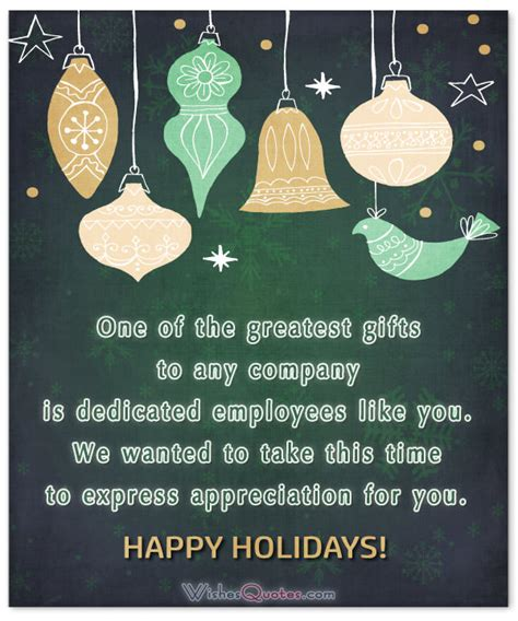 gifts to employees quotes christmas 20 thoughtful messages to let employees you care