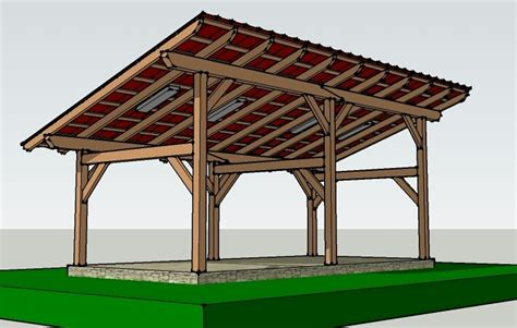 post  beam wooden sheds
