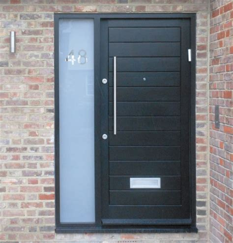 Exterior Doors With Side Panels Remodel Your Property Using Bespoke Wooden Doors Modern Doors