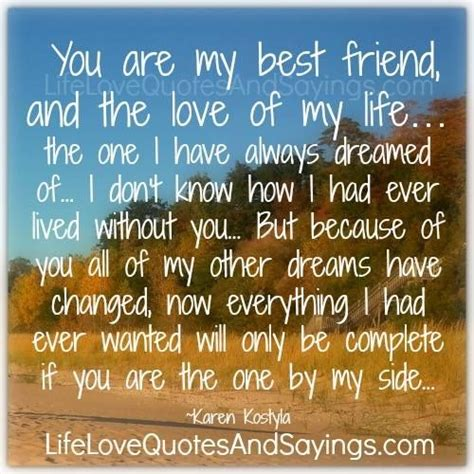 biography exle of a friend you are my best friend and the love of my life the one i