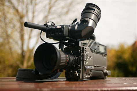 Free Images Shooting Area Cinematographer Camcorder