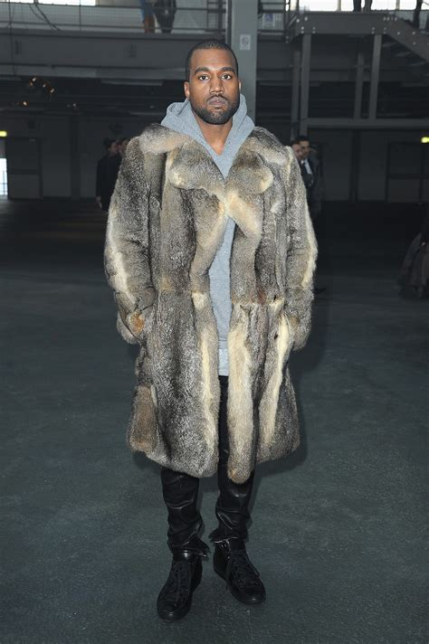 Kanye And Rock The Givenchy Show by Kanye West At The Givenchy Menswear Show Style Set The