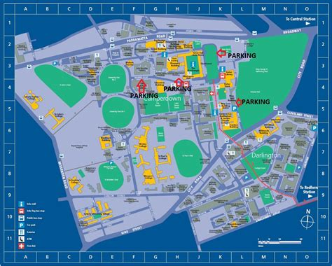 Mba Notre Dame Sydney by Sydney Uni Cus Map Pdf Teostsbb