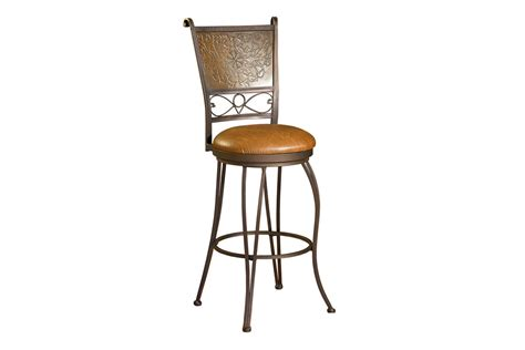 Copper Back Bar Stools by Bronze With Muted Copper Sted Back Bar Stool 30 Quot Seat