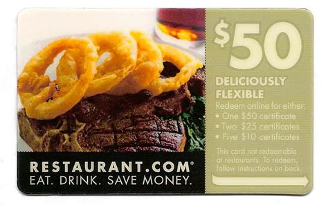 How Does A 100 Restaurant Com Gift Card Work - discount card fundraiser restaurant com gift card