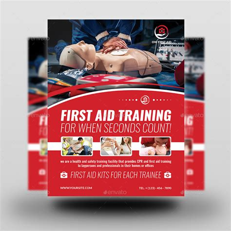 aid poster template aid advertising bundle by owpictures graphicriver