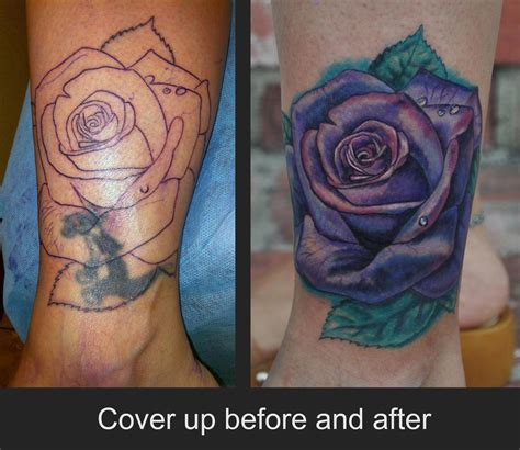 rose tattoo cover up ideas cover up tattoos for tattoos