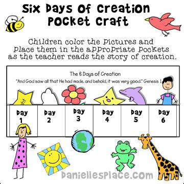 themes in creation stories creation crafts and activities for sunday school