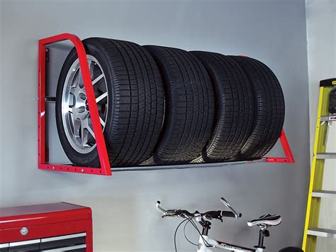 Tire Rack Design by Attitude Garage Tire Storage Racks