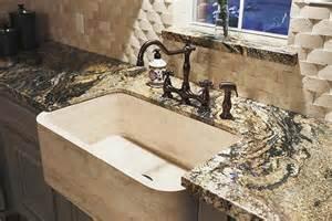 delightful Apron Front Sink With Backsplash #1: front-apron-sink-marble-example.jpg