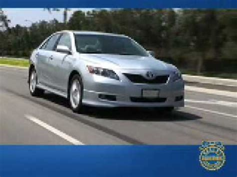 2008 toyota camry review kelley blue book youtube