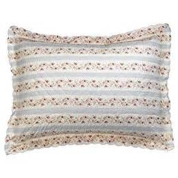 pillow shams from target quilted shabby chic striped bedding pillows textiles