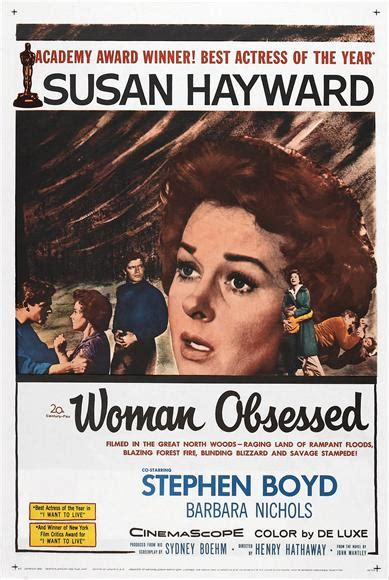 film about obsessed woman woman obsessed dvd susan hayward stephen boyd 8 for sale