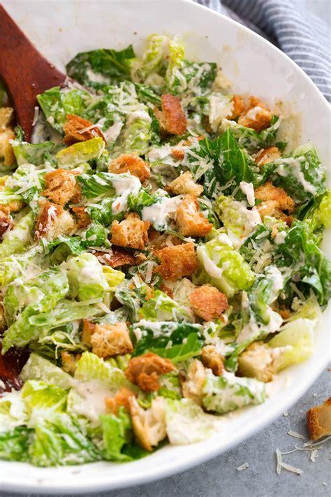 recipe for caesar salad caesar salad recipe with homemade caesar salad dressing