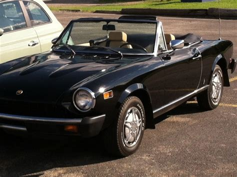 1978 fiat spider for sale 1978 fiat spider 128 classic car by owner in charleroi