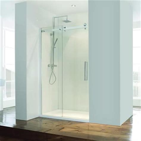 Semi Frameless Sliding Shower Door Sanctuary Bathrooms Semi Frameless Sliding Shower Door