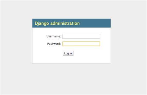 django creating login activate admin application for your python django website