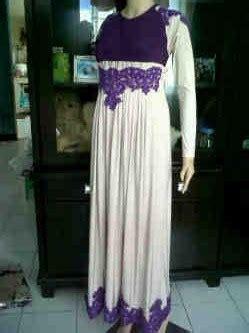 Nuhijab Manset Butterfly Blue baju muslim terbaru butik baju muslimah pashmina sifon