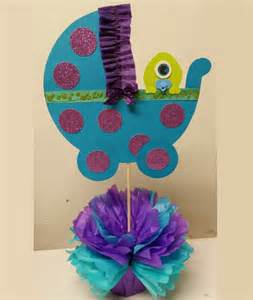 monsters inc decorations for baby shower monsters inc baby shower centerpieces home theme ideas