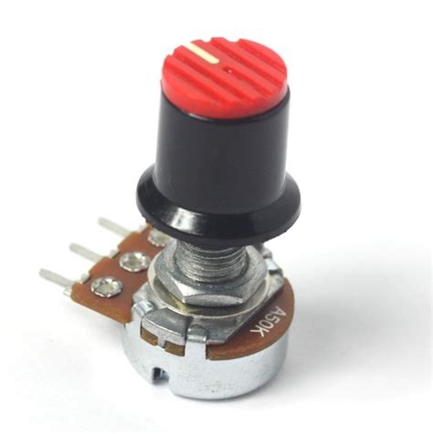 buildyourcnc 50k potentiometer panel mount non trimmer