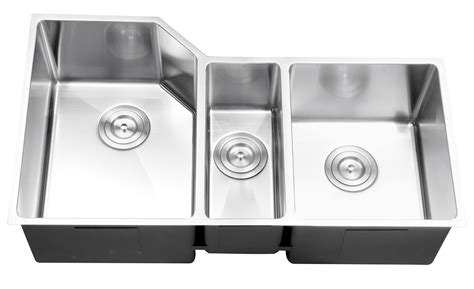 ruvati rvc2586 stainless steel kitchen sink and chrome
