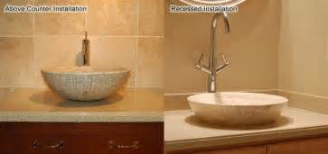 How Do You Install A Bathroom Faucet How To Install A Vessel Sink Amp Faucet