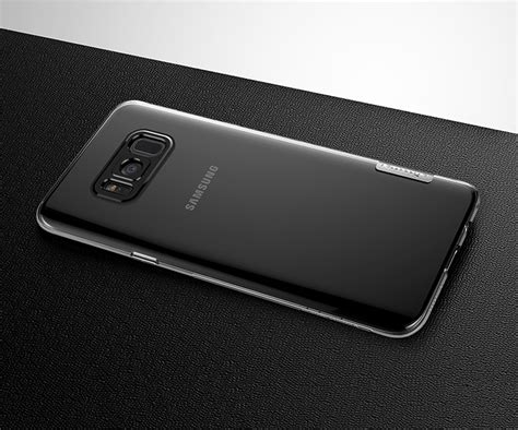 Samsung S8 Ultra Thin Tpu Casing Cover Bumper Armor Silikon Bagus nillkin nature tpu gel ultra slim cover for samsung galaxy s8 g950 grey grey hurtel pl