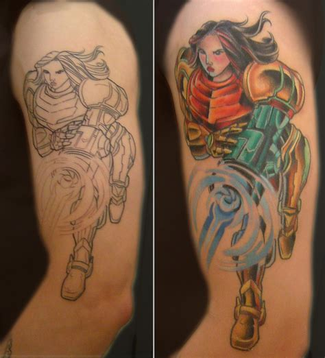 metroid tattoo digital in motion collections