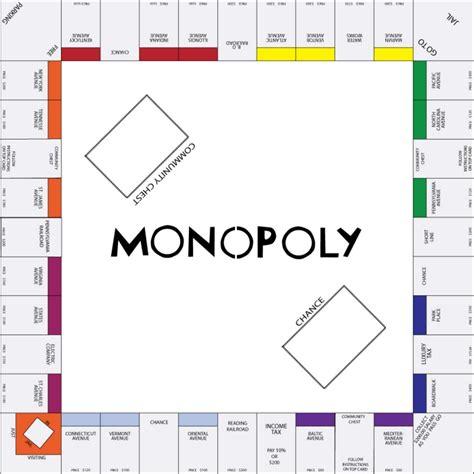 monopoly card template illustrator adobe illustrator by pulsifer at coroflot