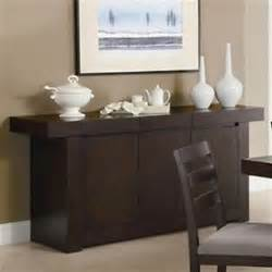 Buffet Server Table Modern Brown Wood Sideboard Buffet Server Table Furniture