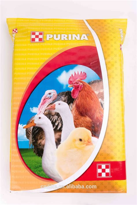 high quality 50lb feed bags package bag 50kg animal feed