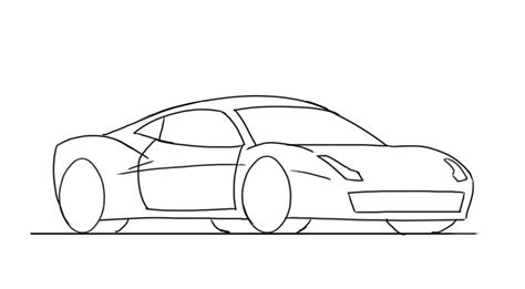 how to draw a cool car step by step cars draw cars how to draw a 458 junior car designer