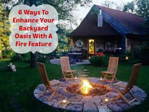 6 ways to enhance your backyard oasis with a fire feature