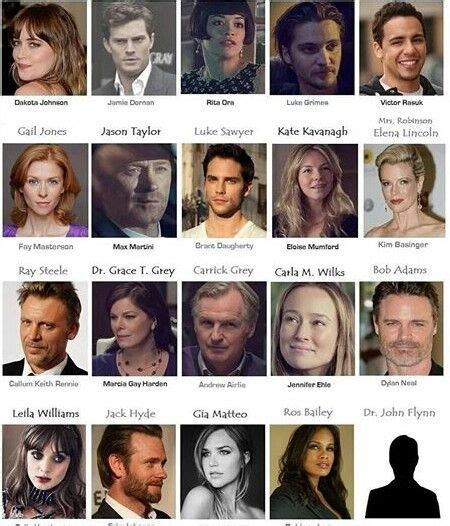 cast of fifty shades of grey hate each other cast ya falta menos para acompletar fifty shades