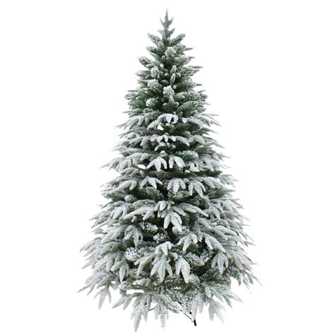 4ft 120cm designer artificial christmas tree snow covered