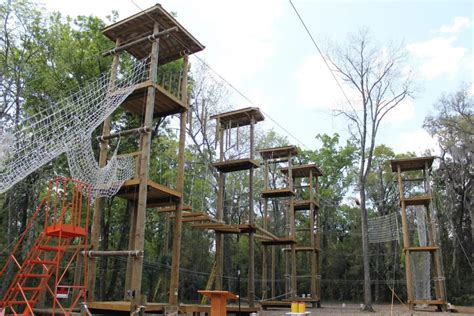 Uf Mba Ropes Course by Lake Wauburg Unveils High Ropes Challenge Course The
