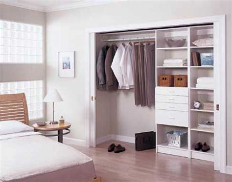 bedroom closets creating space in your bedroom closet wolf design