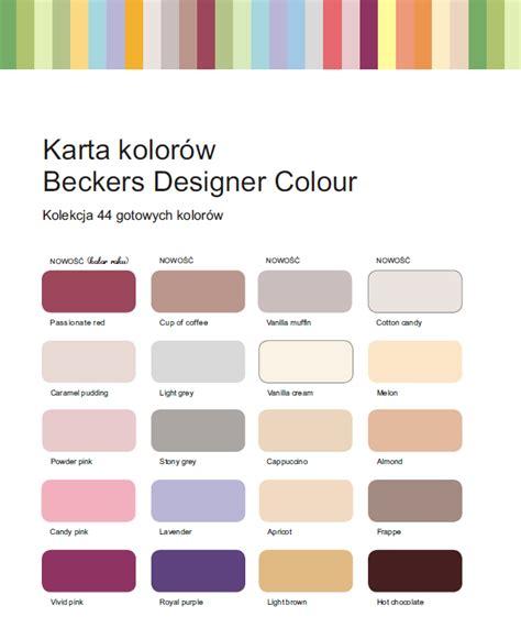 designer colours beckers designer colour 5 l 44 kolory milabud