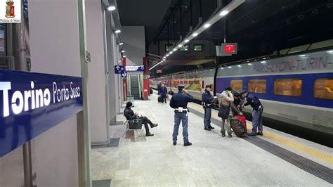 deposito bagagli torino porta nuova controlli a tappeto nelle stazioni a porta nuova anche i