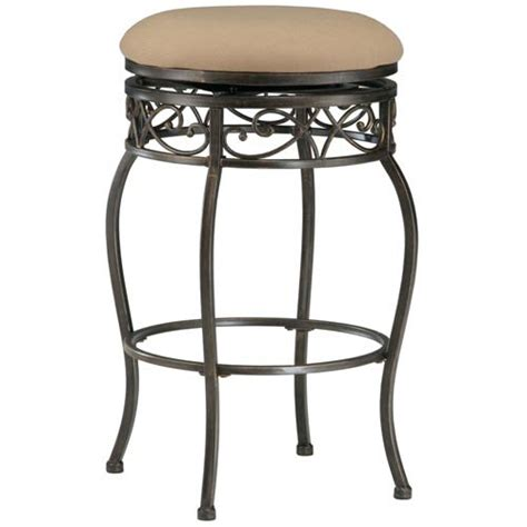 26 Backless Swivel Counter Stool by Hillsdale Lincoln 26 In Backless Swivel Counter Stool