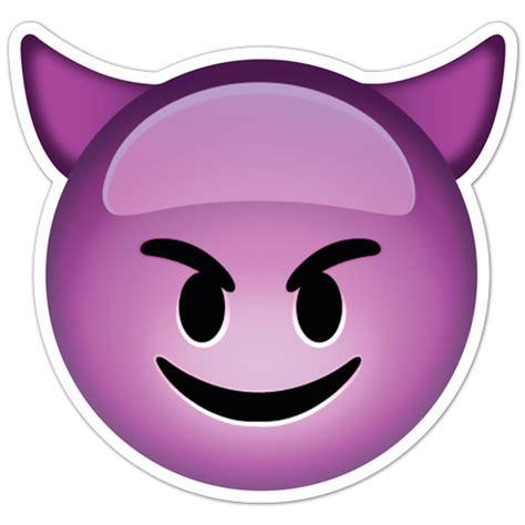Aufkleber Vom Fahrrad Lösen by Aufkleber Smiley Gesicht Teufel Mit H 246 Rnern