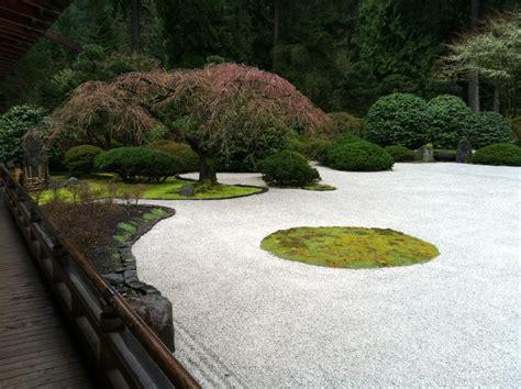 sand garden landscapes gardens design portland japanese garden