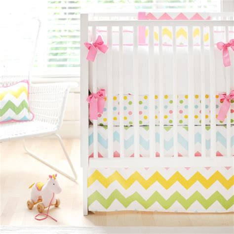 Rainbow Crib Bedding Rainbow Chevron Baby Bedding And Nursery Necessities In Interior Design Guide All Baby Bedding