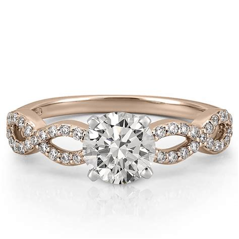 Wedding Rings Infinity Band by Infinity Engagement Ring Infinity Ring Do