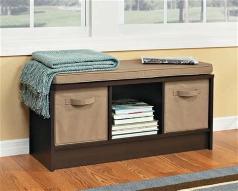 closetmaid 3 cube bench espresso target closetmaid cubeicals 3 cube storage bench