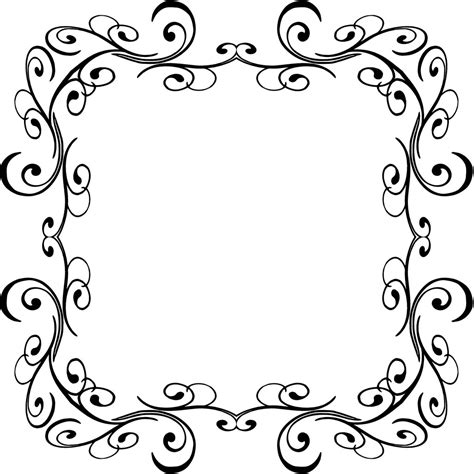 design frame outline swirl comp 19 this border was uploaded as a png with a