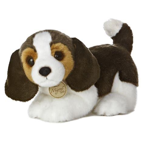 stuffed animal puppy realistic stuffed beagle puppy 10 inch plush by