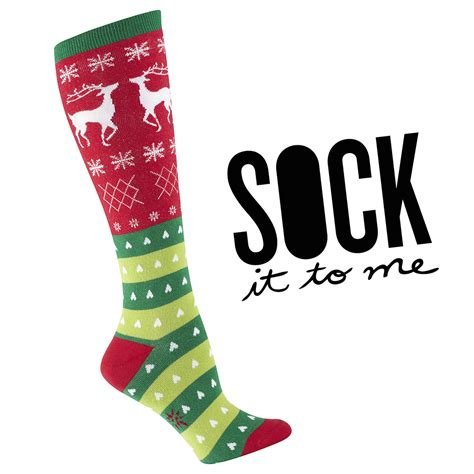 christmas sock holiday designs for everyone on your shopping listsock it