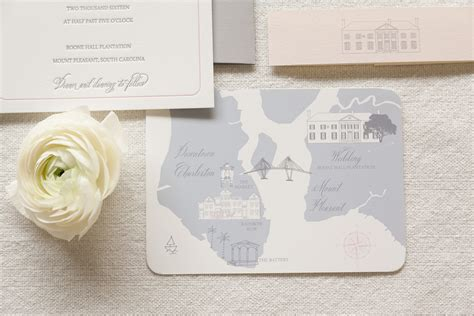 Wedding Invitations Charleston Sc by Boone Wedding Invitation Dodeline Design Charleston Sc